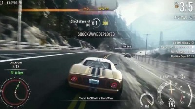"Need for Speed: Rivals ""Геймплей xbox one"""