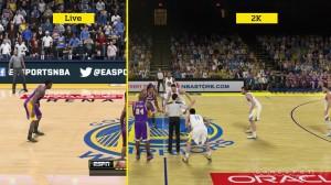 ��������� ������� NBA 2K15 vs. NBA Live 15