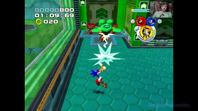 Sonic Heroes - 3. Тяжкий побег (прохождение на русском)
