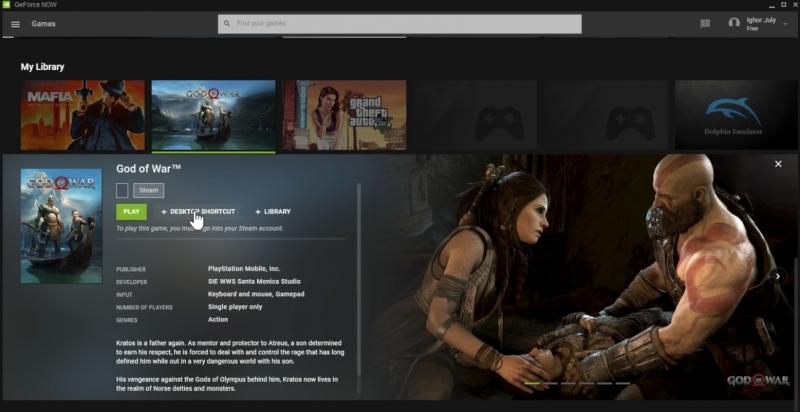 God of War может заглянуть на ПК - в базе GeForce Now обнаружили эксклюзив PlayStation