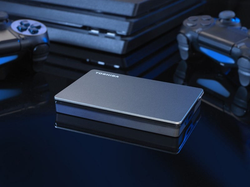 """Внешние HDD Toshiba Canvio Gaming """"специально адаптированы для игр"""""""