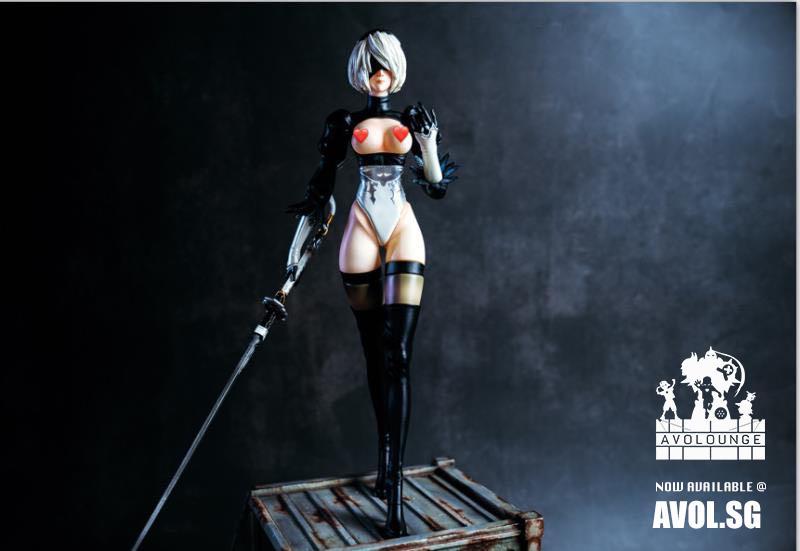 Анонсирована новая фигурка 2B из NieR: Automata