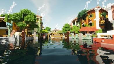 Специалисты из Digital Foundry оценили мод для Minecraft, добавляющий в игру трассировку лучей