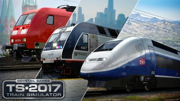 Презентация TS2017 и Train Simulator World (UE4)