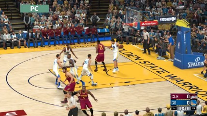 NBA 2K17: сравнение графики PC vs. PS4 vs. Xbox One (Candyland)