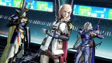 Стала доступна Dissidia Final Fantasy NT Free Edition