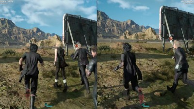 Сравнение Xbox One X версий Final Fantasy XV - Lite vs Steady режимы
