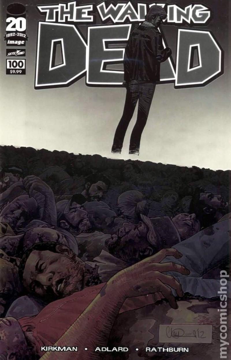 Комикс «Ходячие мертвецы»
