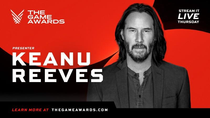 Киану Ривз появится на The Game Awards 2020