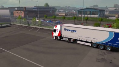"Euro Truck Simulator 2 - Дополнение ""Krone Trailer Pack"""