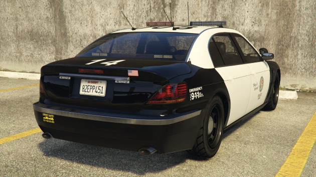 Ubermacht Oracle XS Police Pursuit Vehicle