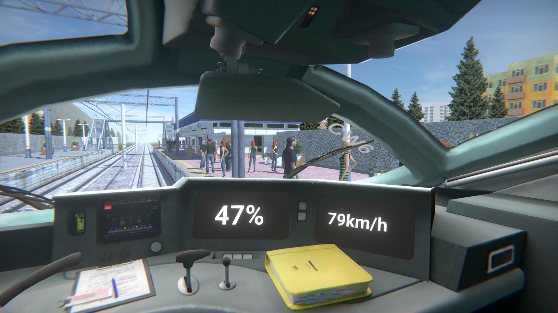 Халява! В Windows Store раздают симулятор машиниста High Speed Trains 3D