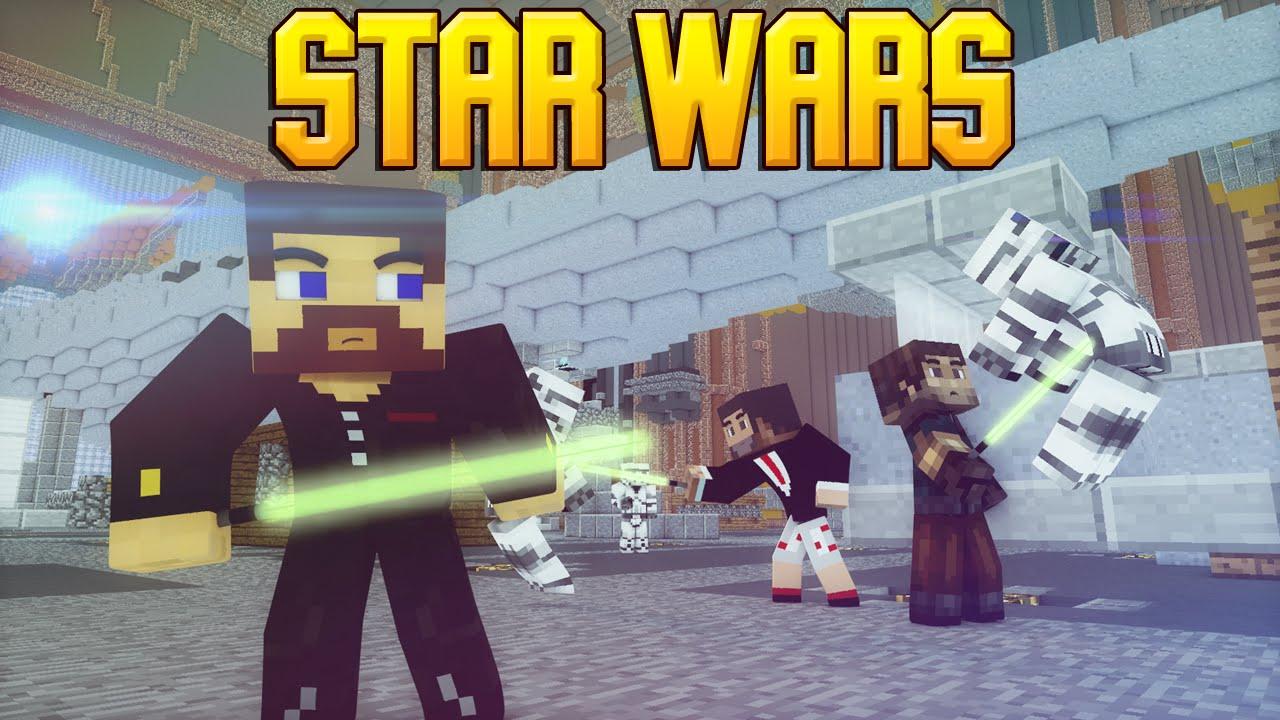видео майнкрафт мод на звёздные войны война клонов