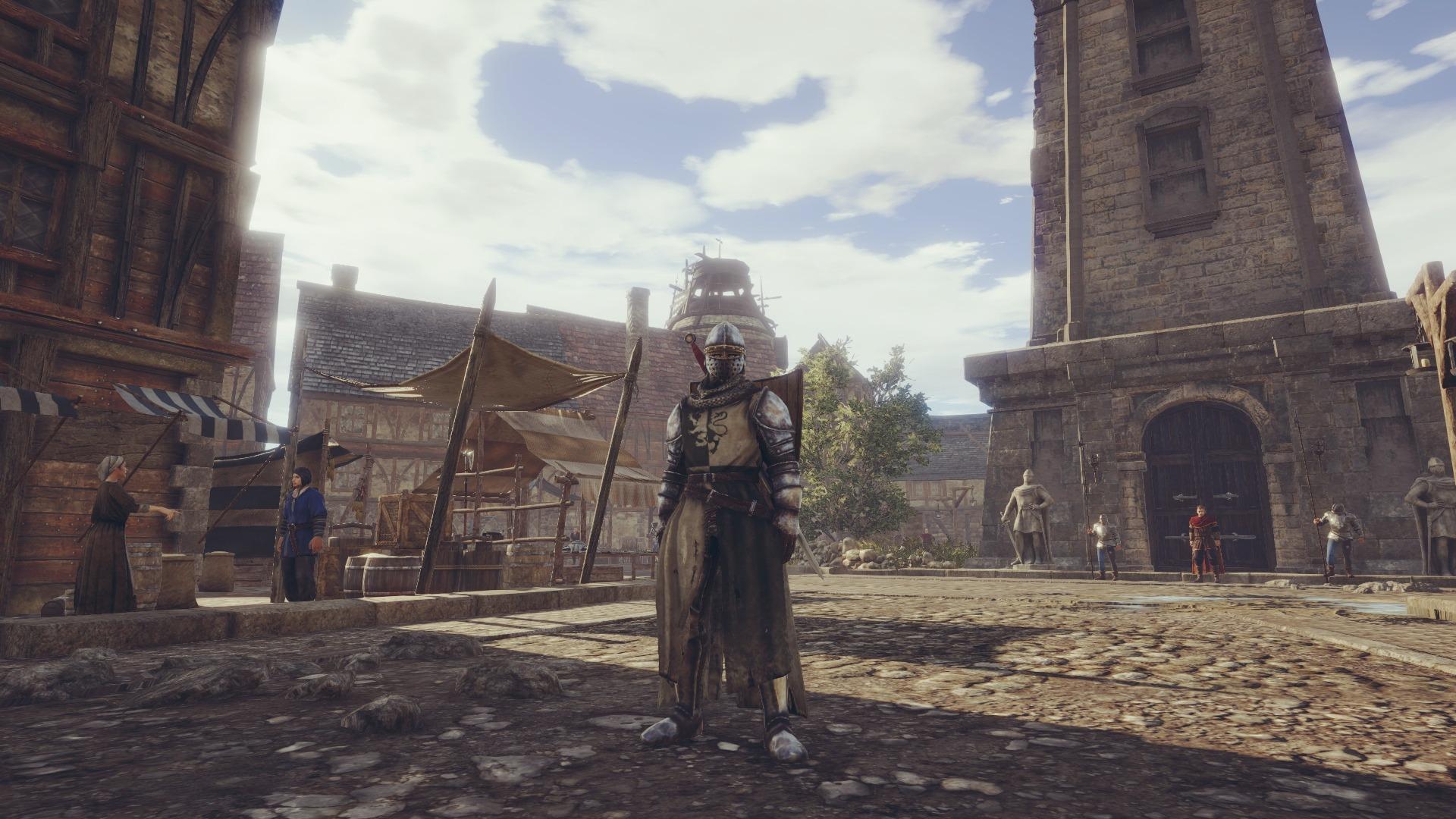 Небоевая карьера в Conqueror's Blade
