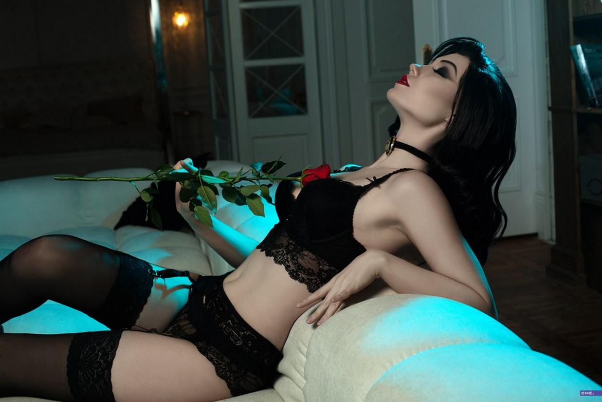 Сексуальный эротический косплей