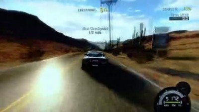 "NFS ProStreet ""E3 2007 High Speed Crash Gameplay"""