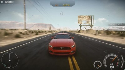 "Need for Speed Rivals ""Геймплей 2015 Ford Mustang"""