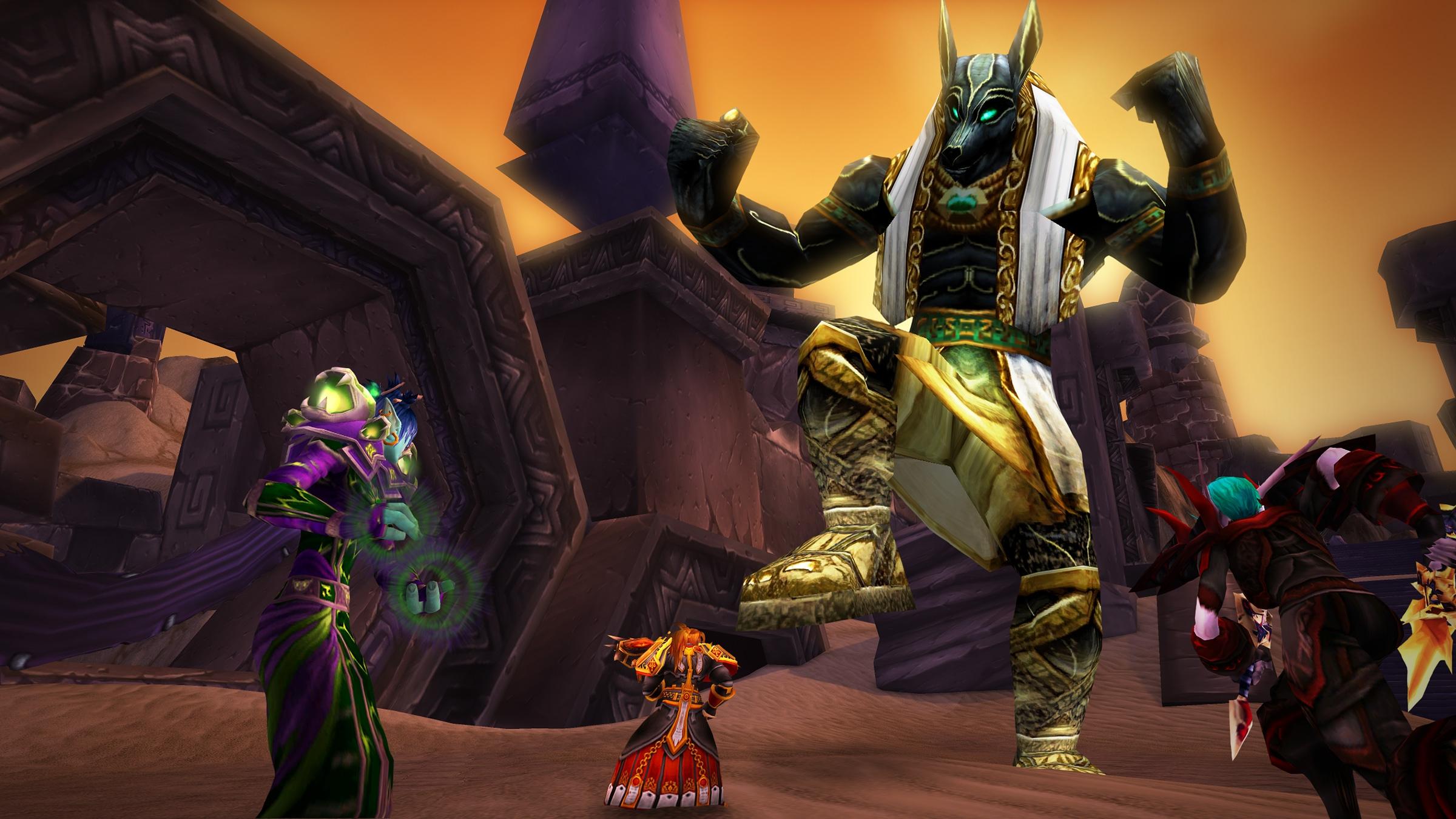 В World of Warcraft началось празднование Зова Скарабея 2019