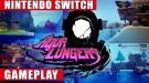 Видео геймплея и релизный трейлер скоростного платформера со сплит-скрином Aqua Lungers