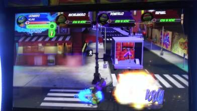 Teenage Mutant Ninja Turtles Arcade 2018 - Улицы Нью-Йорка (целый этап)