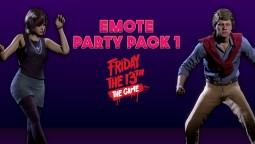 Emote Party Pack 1 для Friday the 13th: The Game уже доступен