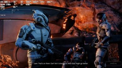 Mass Effect: Andromeda - Ryzen 2700x 1080ti 3533cl14 FHD Ultra