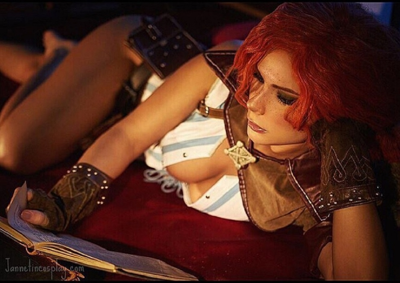 Triss merigold cosplay adult pic