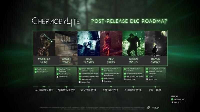 Разработчики Chernobylite поделились дорожной картой пост-релизной поддержки игры: два DLC выйдут до конца года
