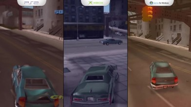 GTA 3 - Сравнение графики