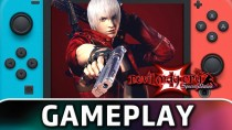 Первые 15 минут Devil May Cry 3 Special Edition на Nintendo Switch