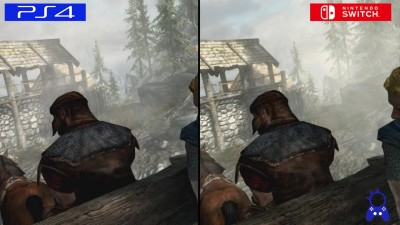 Сравнение графики - The Elder Scrolls 5: Skyrim - Switch vs PS4 vs PC vs Xbox One vs PS3 vs Xbox 360 (ElAnalistaDeBits)