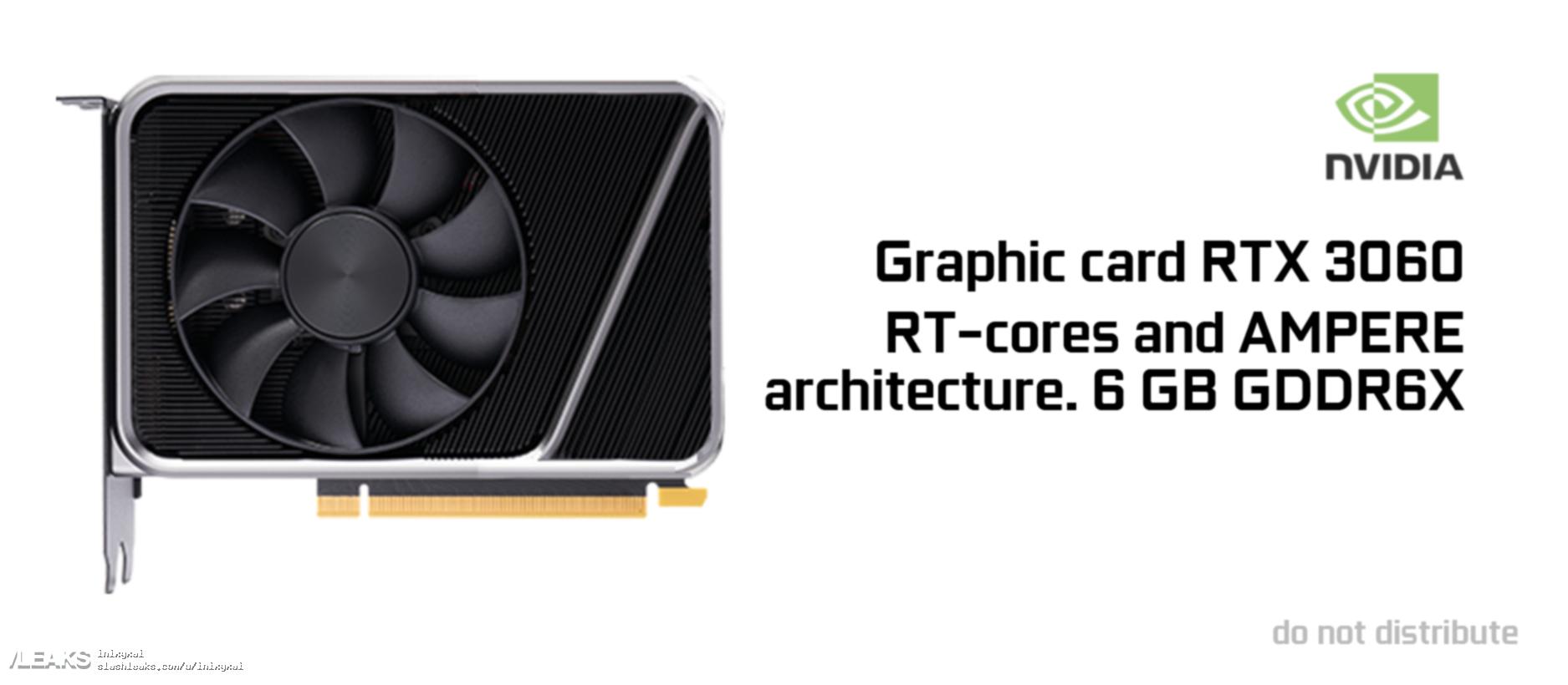 Самый дешевый и самый компактный Ampere? Так выглядит GeForce RTX 3060