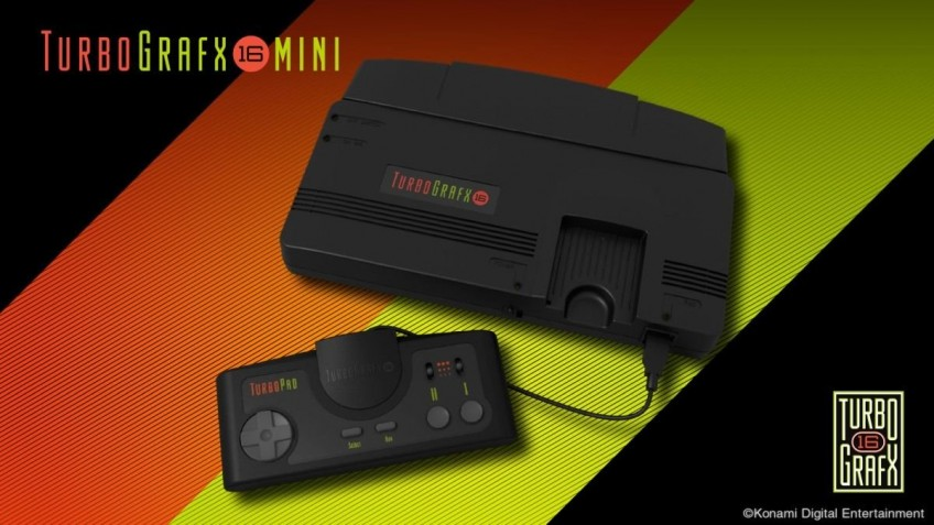 Konami отложила выпуск TurboGrafx-16 Mini из-за коронавируса