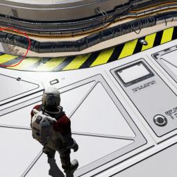 В сеть слили модель корабля из Starfield и ранний скриншот игры
