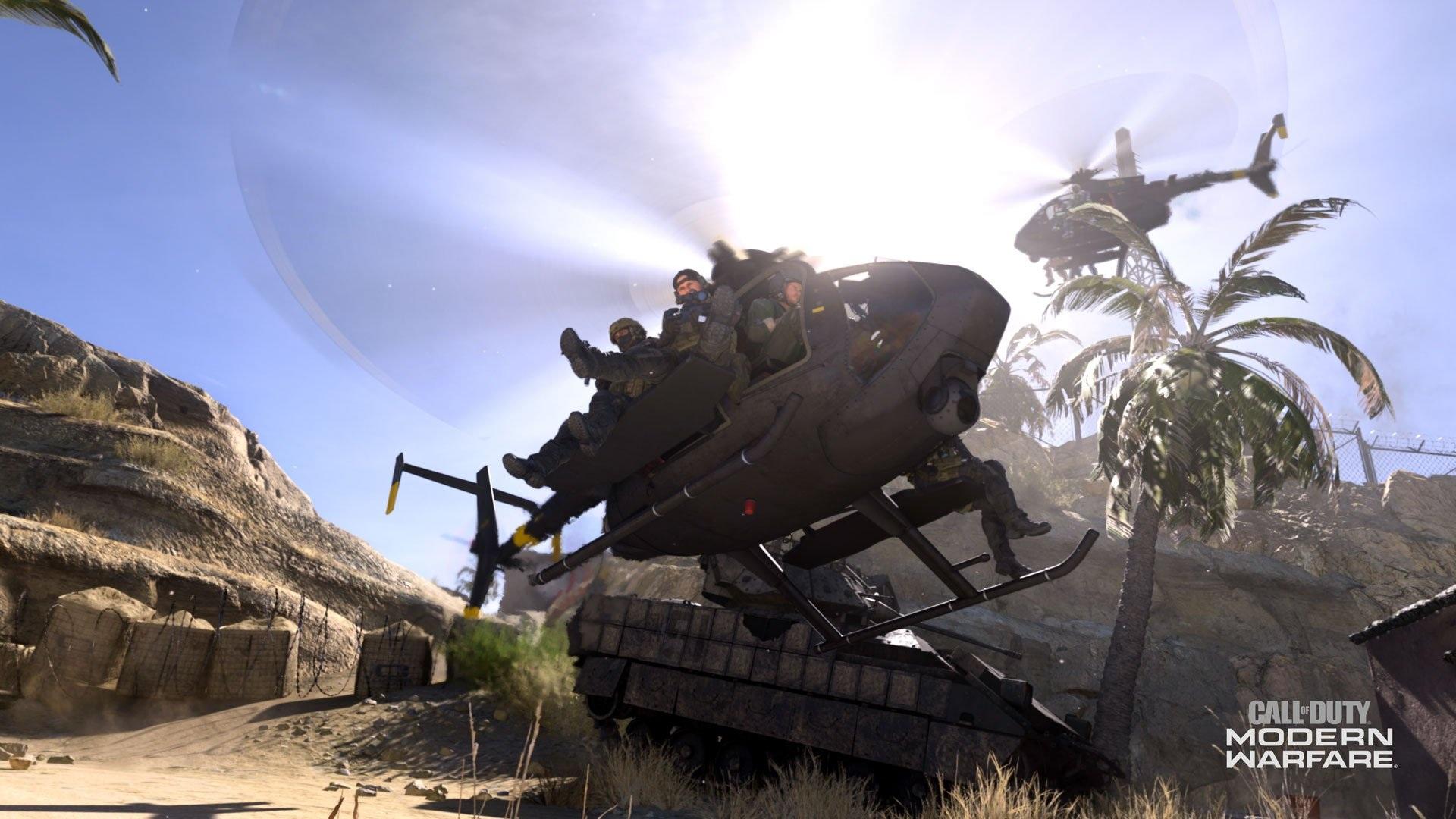 """Новые подробности о режиме """"Наземная война"""" в Call of Duty: Modern Warfare"""