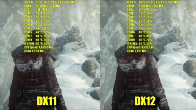 Rise of the Tomb Raider GTX 1080 Ti OC | DX11 / DX12 1080 - 1440P и 4K (2160p) частота кадров ТЕСТ