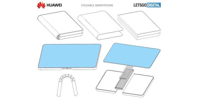 Huawei презентует гнущийся смартфон вконце осени