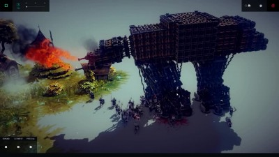 "Besiege ""Star Wars WALKER в игре"""