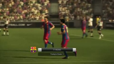 "PES 2012 ""Геймплей Barcelona vs Manchester United"""