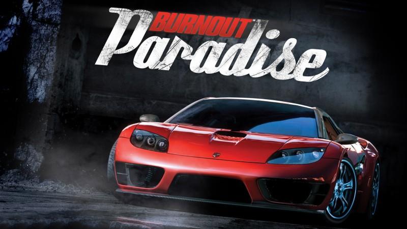 постер Burnout Paradise