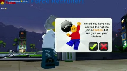 "LEGO Universe ""Factions Trailer"""