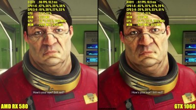 "Prey ""AMD Driver Update RX 580 Vs GTX 1060 1080p Сравнение"""