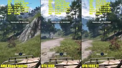"Far Cry 4 "" Сравнение производительности AMD Frontier Edition Vs GTX 1080 TI Vs GTX 1080 """