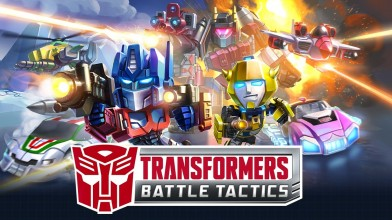 Вышла пошаговая стратегия о трансформерах - Transformers: Battle Tactics