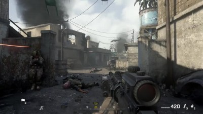 "Call of Duty 4: Modern Warfare ""Геймплей с PS4 Pro в 4К от DigitalFoundry"""