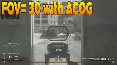 Red Dot VS ACOG (Modern Warfare Remastered Attachment Versus)