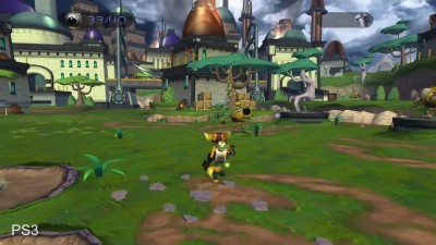 "Ratchet and Clank ""Сравнение графики PS4/PS3/PS2"""