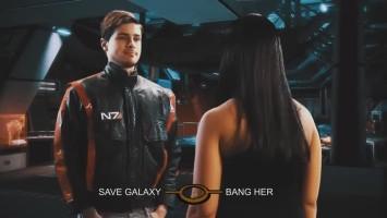 """Mass Effect 3 """"We'll Bang, OK? - Сложный выбор капитана"""""""