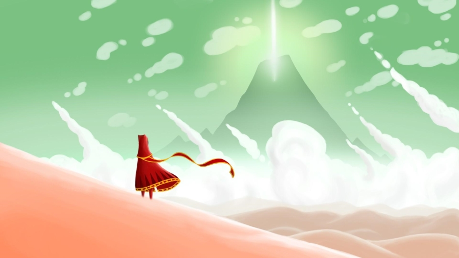 Journey вышла в Steam
