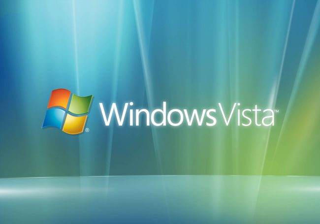 Компания Microsoft освободилась от ОС Windows Vista
